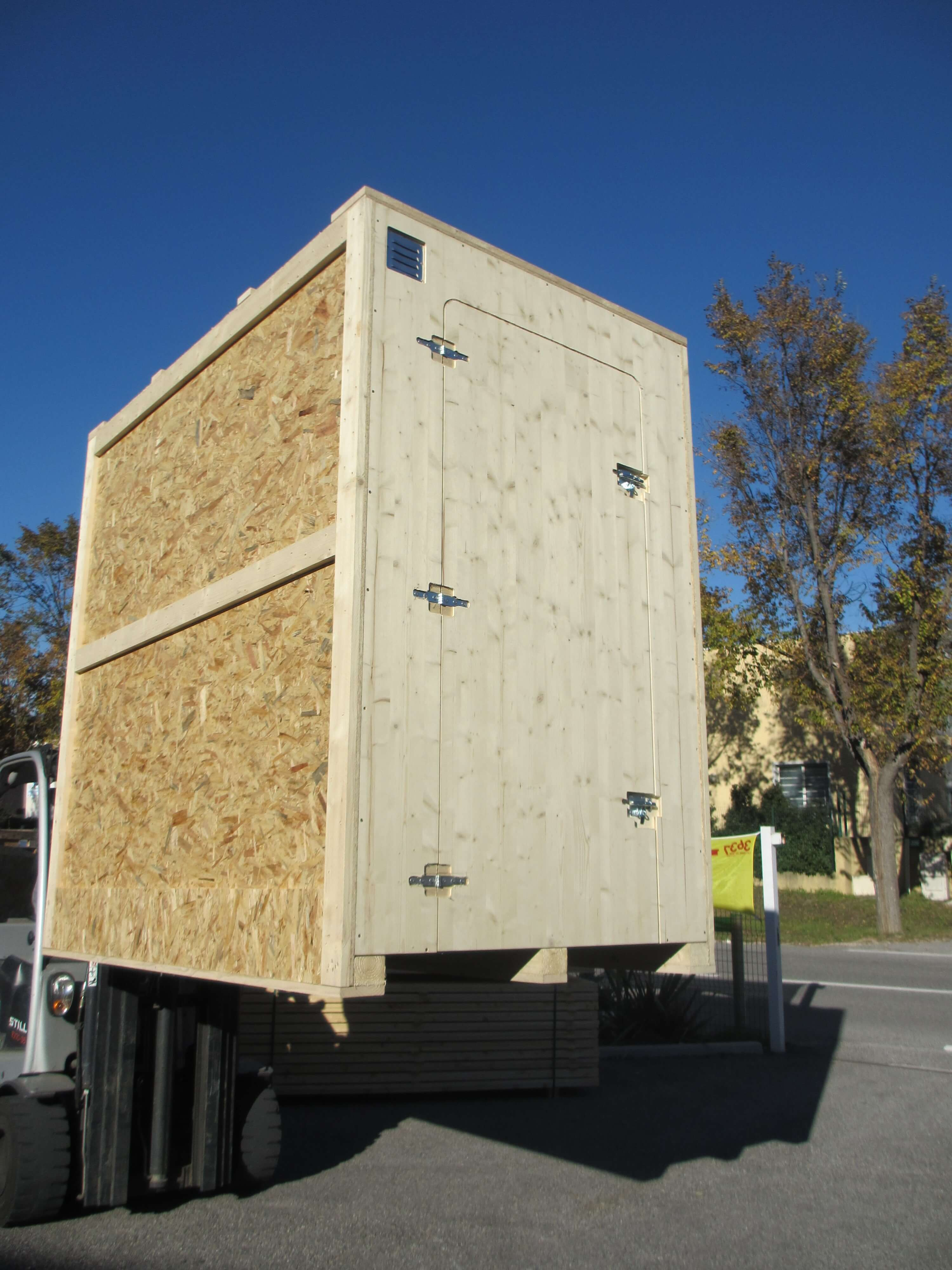 Caisse self-stockage S2C